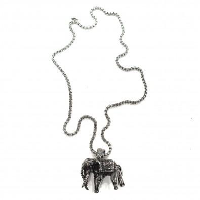Chaine acier homme 48cm CAH044