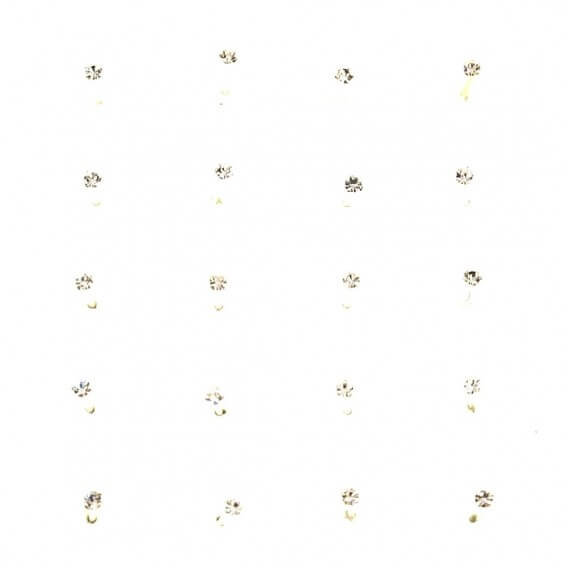 Piercing de nez argent 325 PR001AM (20pcs)