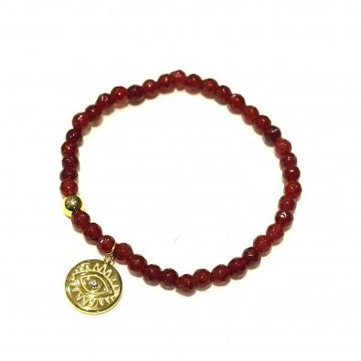 Bracelet couleur acier BRAF720