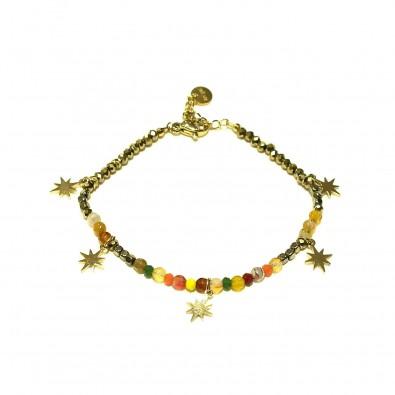 Bracelet couleur acier BRAF728