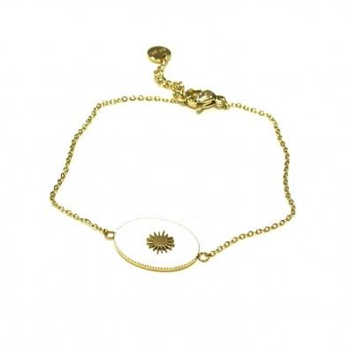 Bracelet couleur acier BRAF730