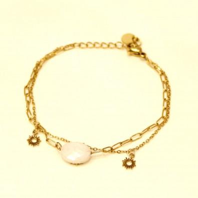 Bracelet acier femme BRAF773