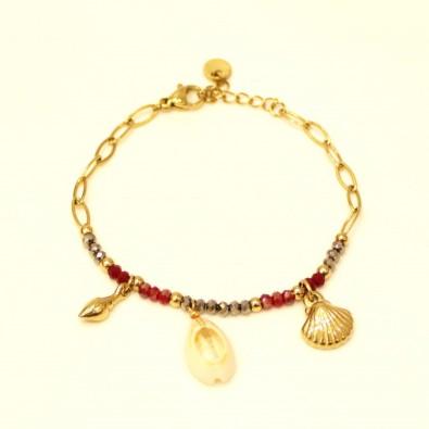 Bracelet acier femme BRAF778