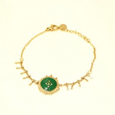 Bracelet acier femme BRAF779