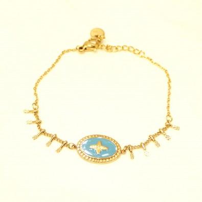 Bracelet acier femme BRAF780