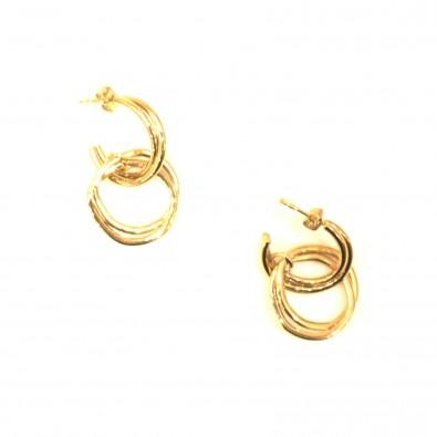 Boucles d'oreilles acier BOAC131