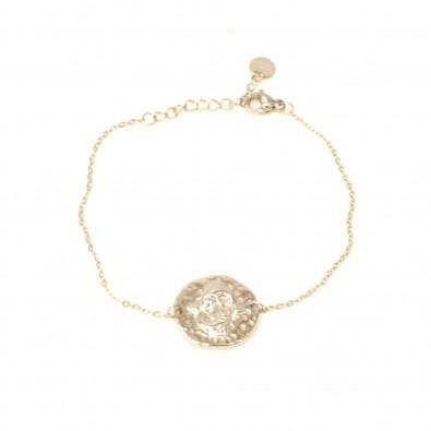 Bracelet acier signe astrologie poisson BRAF787