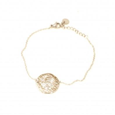 Bracelet acier signe astrologie taureau BRAF789