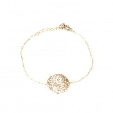 Bracelet acier signe astrologie gémeaux BRAF790