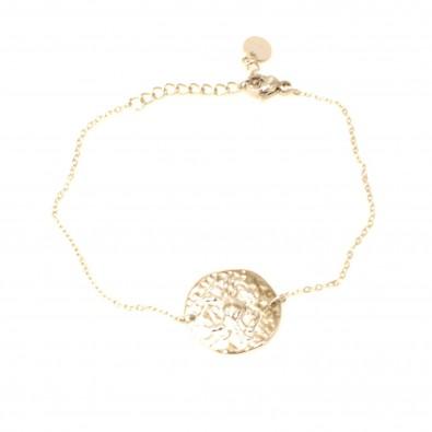 Bracelet acier signe astrologie cancer BRAF791