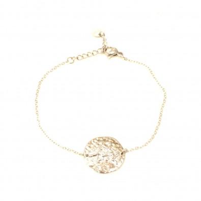 Bracelet acier signe astrologie vierge BRAF793