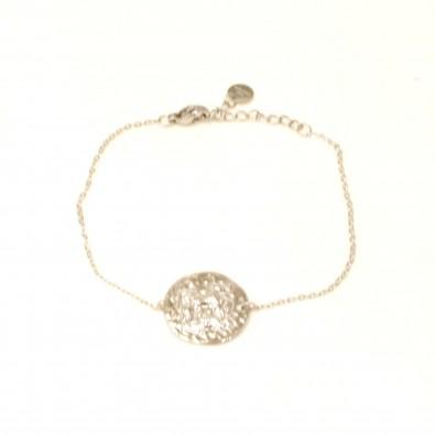 Bracelet acier signe astrologie verseau BRAF794