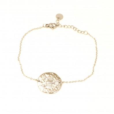 Bracelet acier signe astrologie scorpion BRAF796