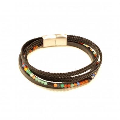 Bracelet acier homme BRAH413