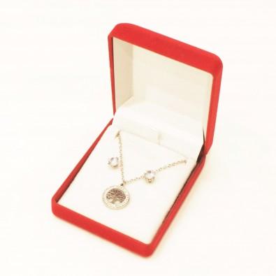 Coffret bijoux acier COFA001AB