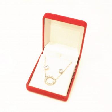 Coffret bijoux acier COFA002RO