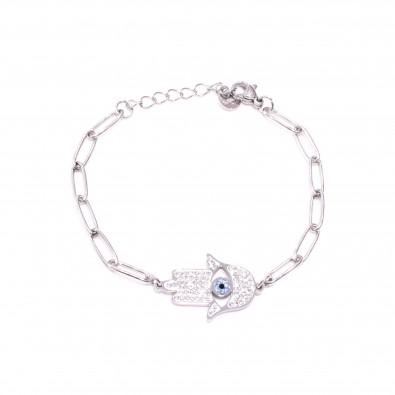 Bracelet acier inoxydable femme BRAF811