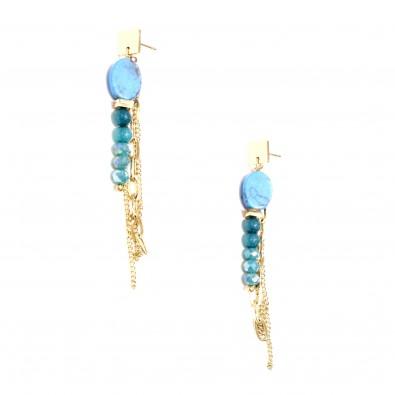 Boucles d'oreilles acier BOAC134