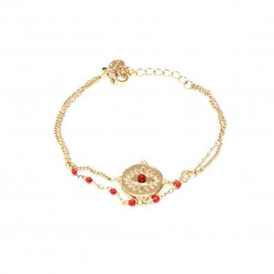 Bracelet acier inoxydable femme BRAF823