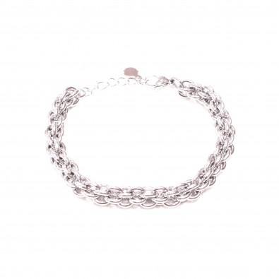Bracelet acier inoxydable femme BRAF825