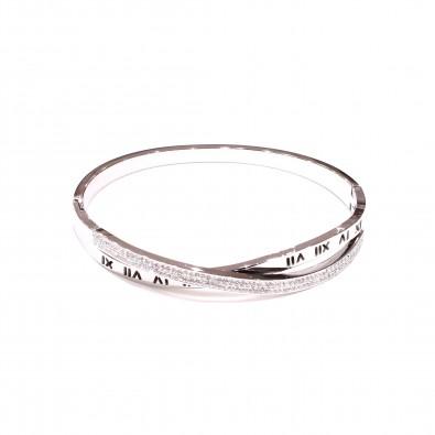 Bracelet acier inoxydable femme BRAF851