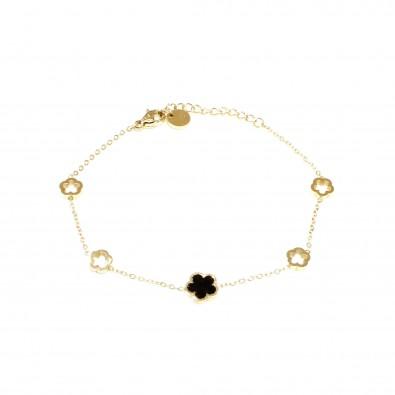 Bracelet acier inoxydable femme BRAF862