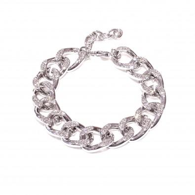 Bracelet avec strasse en métal homme BRAH466