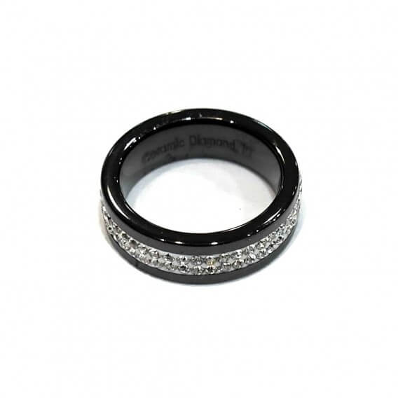 Ring Ceramic rhinestone BAC014NO